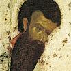 Иконостас Благовещенского собора Московского кремля. Василий Великий. Деталь. 1405. Феофан Грек.jpg